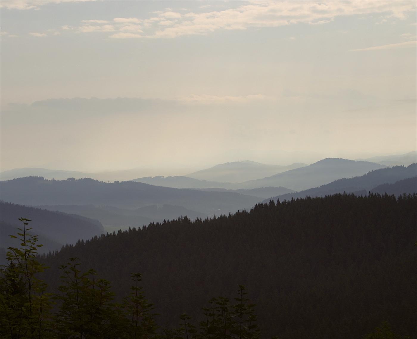 kysuce turistika hory kopce lesy odpočinek