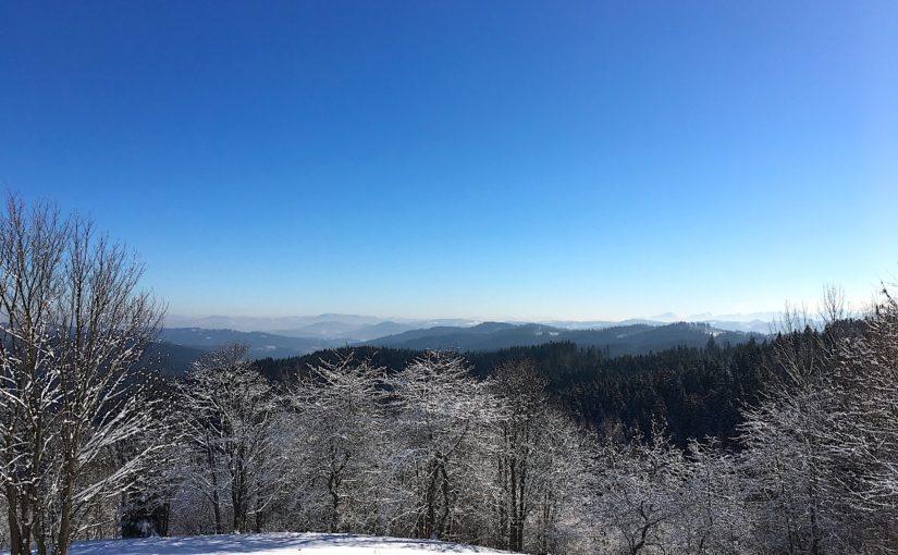 Vyvrcholení zimy