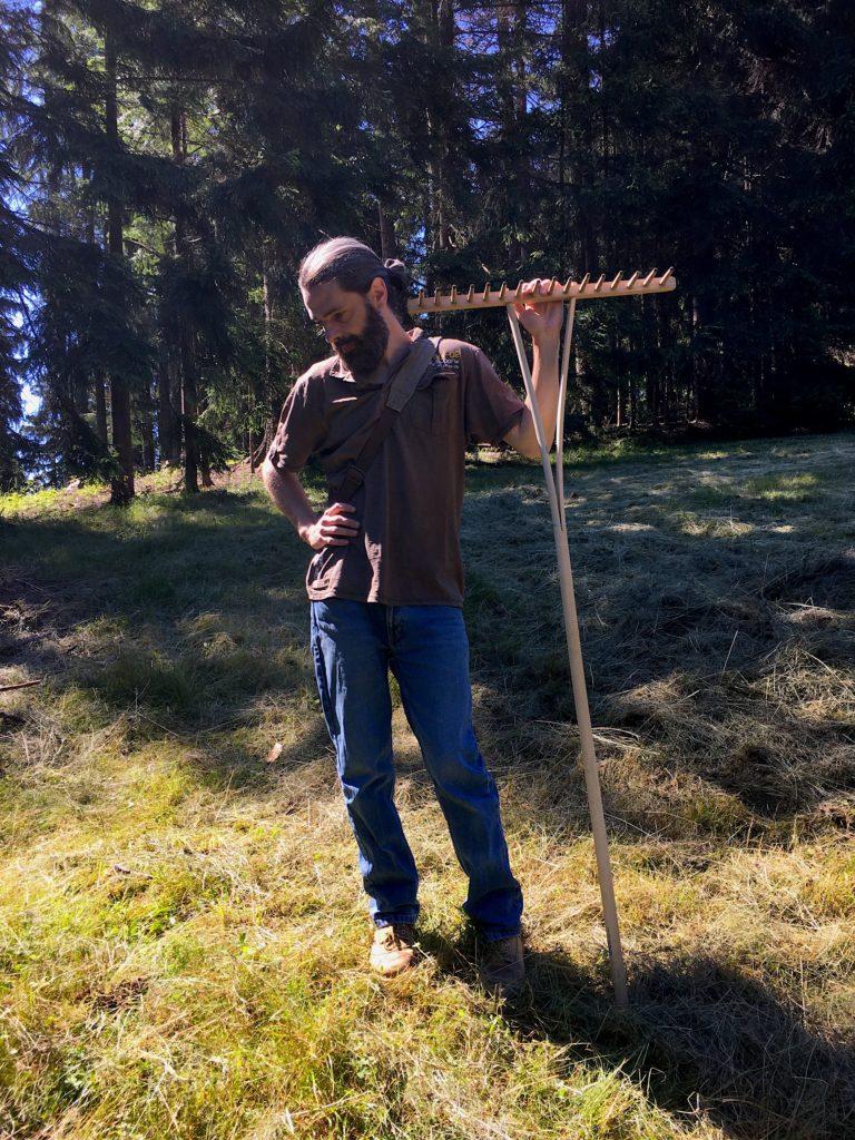 sušení sena kysuce obnova biotop pastviny kozy